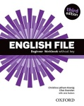 NOWA!!! English File third edition Beginner Workbook Without Key, wyd. Oxford