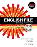 NOWA!!! English File third edition Elementary Student\'s Book + iTutor + Online Skills, wyd. Oxford