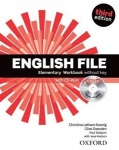 NOWA!!! English File third edition Elementary Workbook Without Key, wyd. Oxford